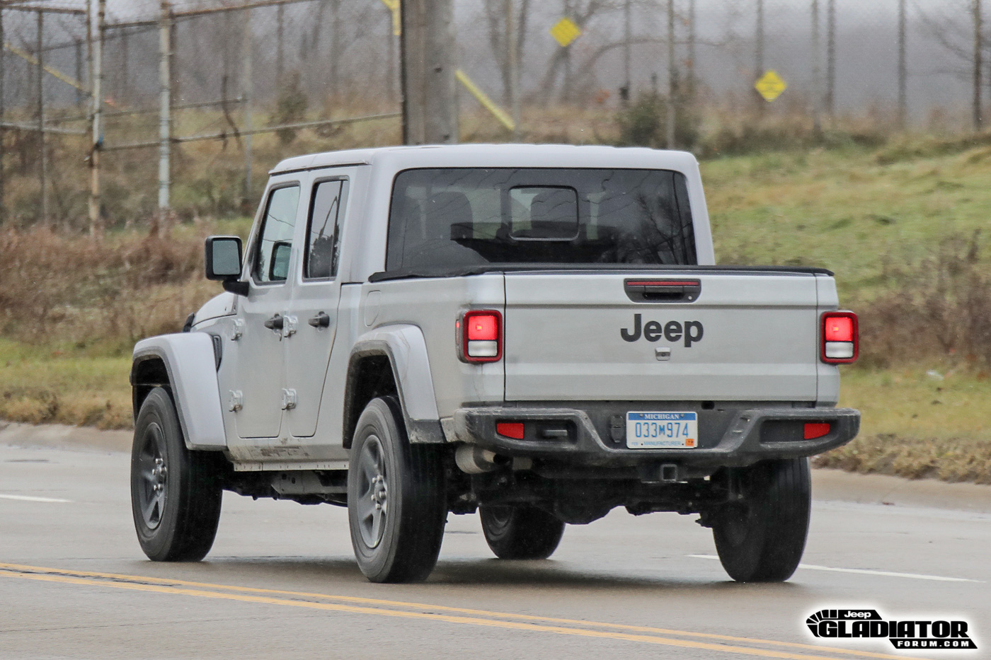 2020 Jeep Gladiator Spotted Testing in Black (Overland ...