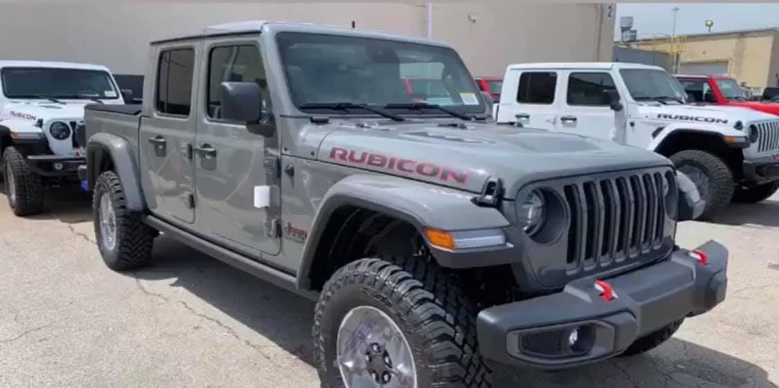 Sting-Gray now available! | Jeep Gladiator Forum ...