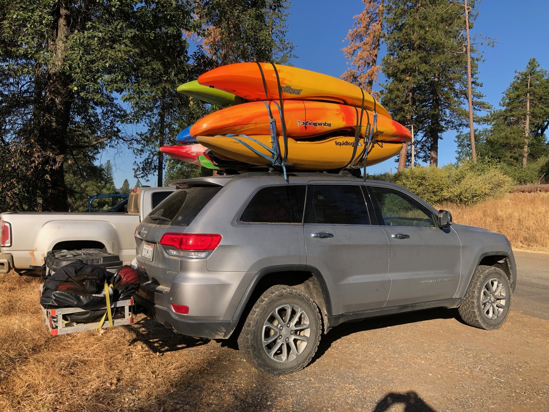 Bed Rack Storage For Kayaks Jeep Gladiator Forum