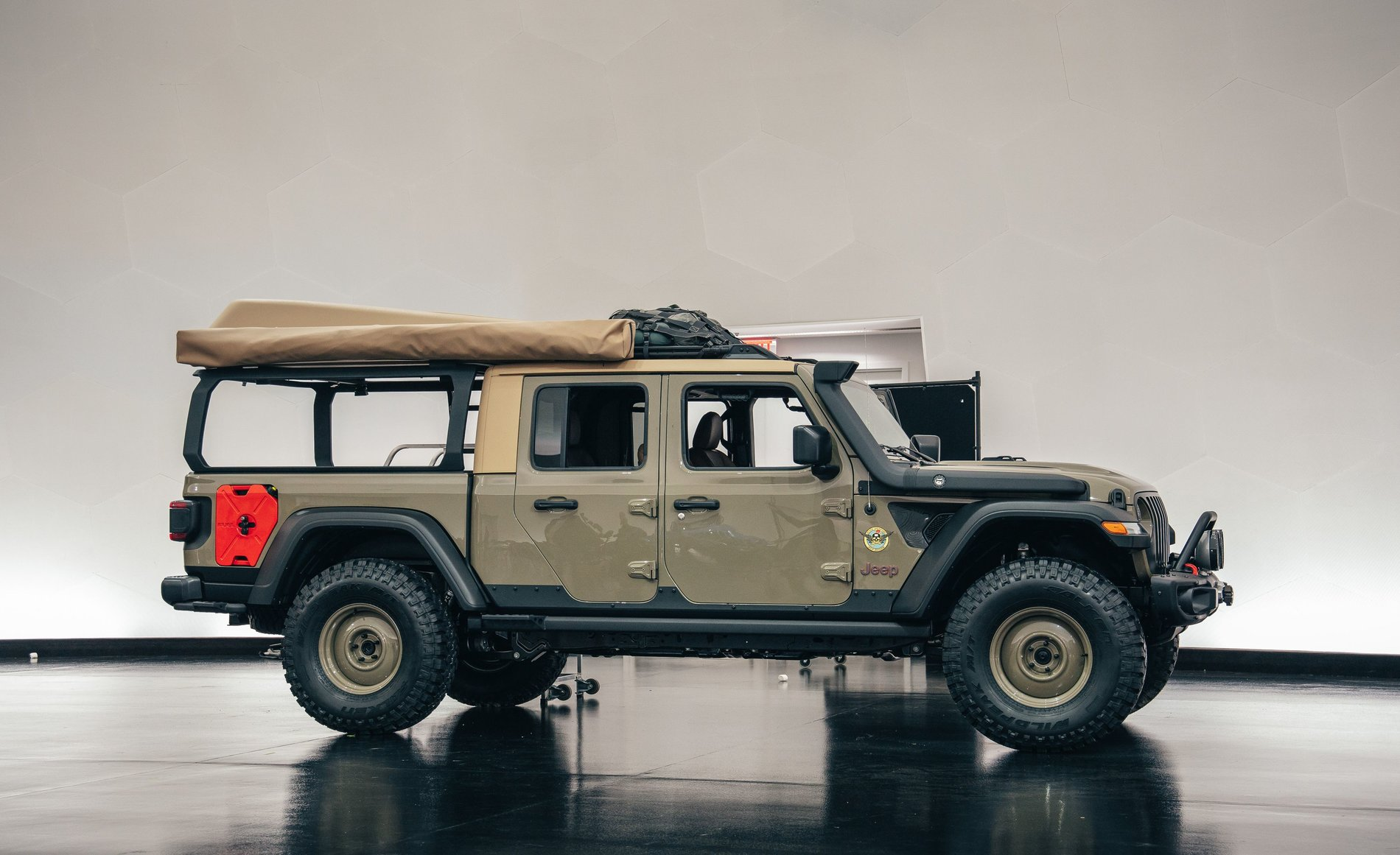 Easter Jeep Concepts The Wayout Expedition Portal