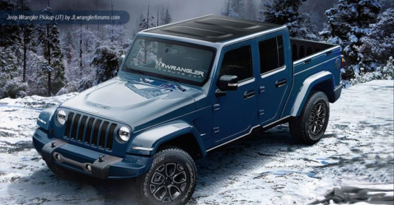 According To A Recent Report Via Motoring The Jt Wrangler Pickup Truck Will Begin Production In September 2018 This Means We Ll Seeing Them Ear