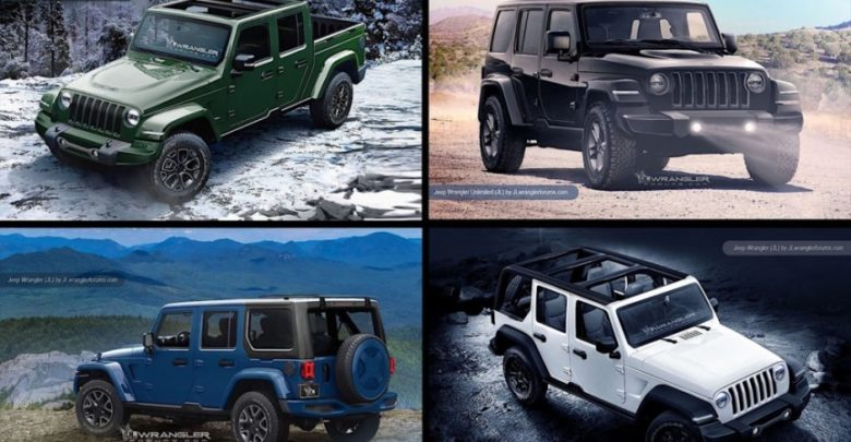 May Not Be Shown Until A Possible Reveal At The Upcoming Detroit Auto Show But Then We Are Excited To Bring You Our Renderings Of Jeep Pickup