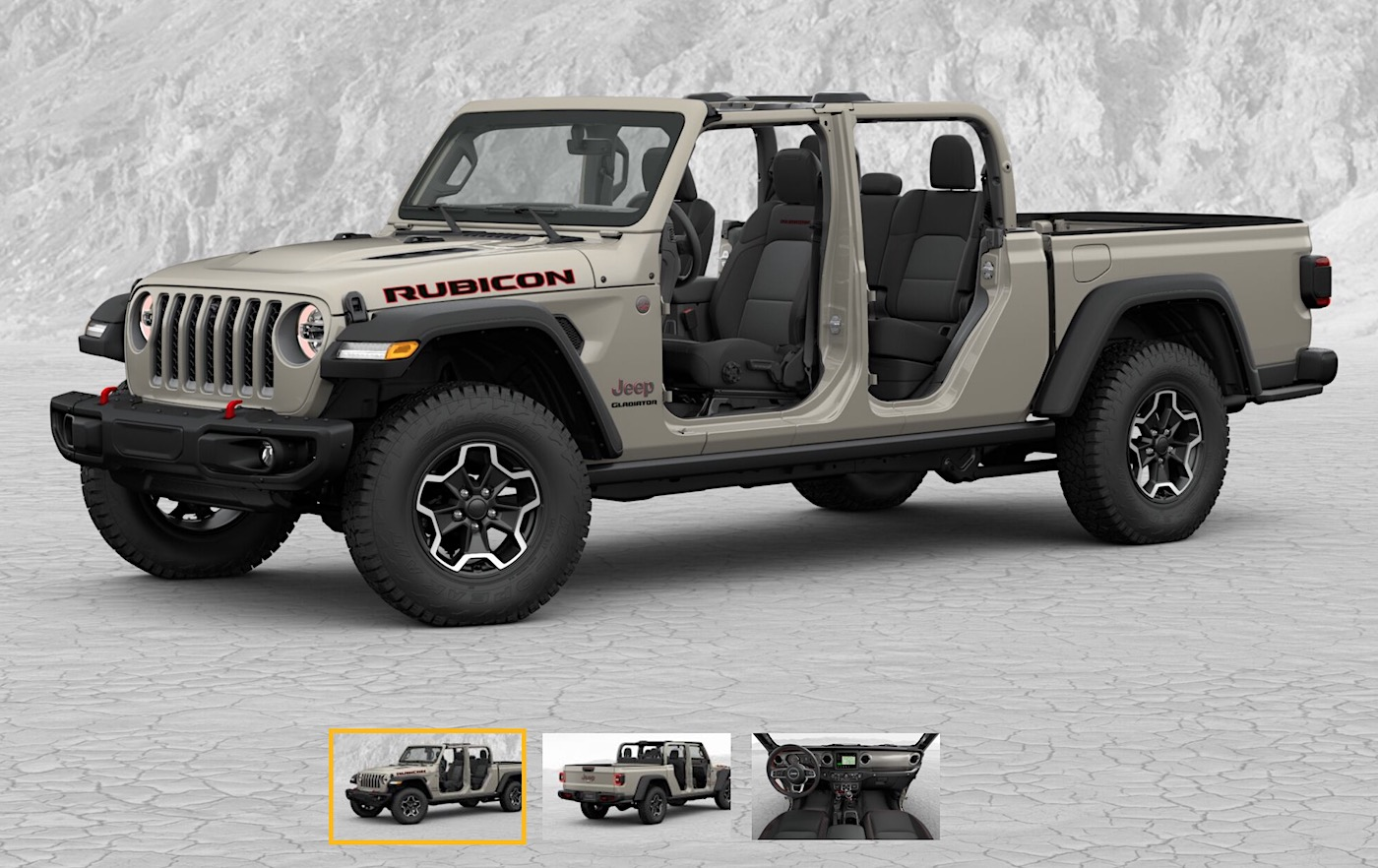 Jeep Gladiator Build & Price Configurator Now LIVE! – 2020 ...