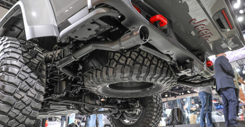 Belly of the Beast – Undercarriage Look at the Jeep ...