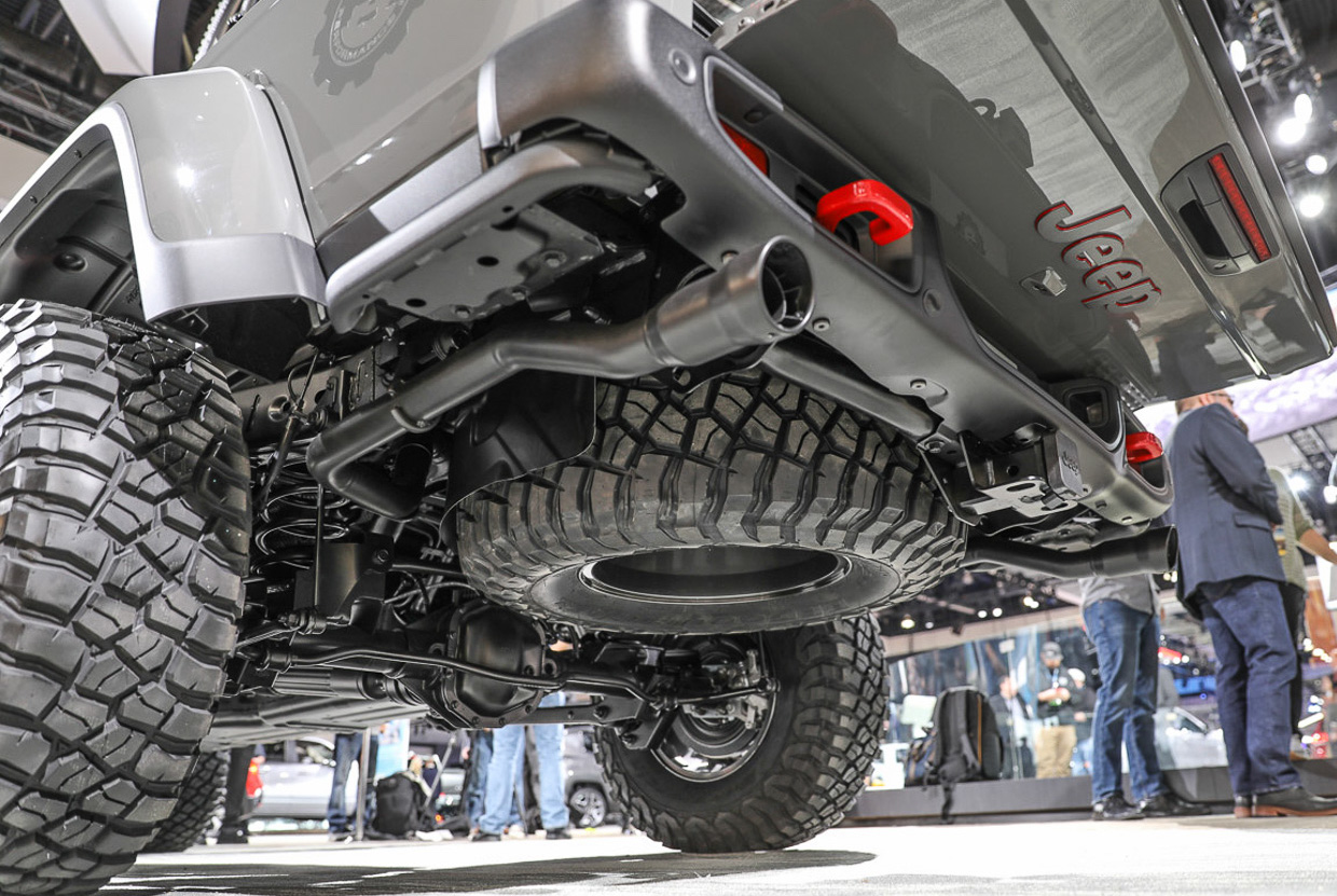Jeep Wrangler Diesel >> Belly of the Beast – Undercarriage Look at the Jeep ...