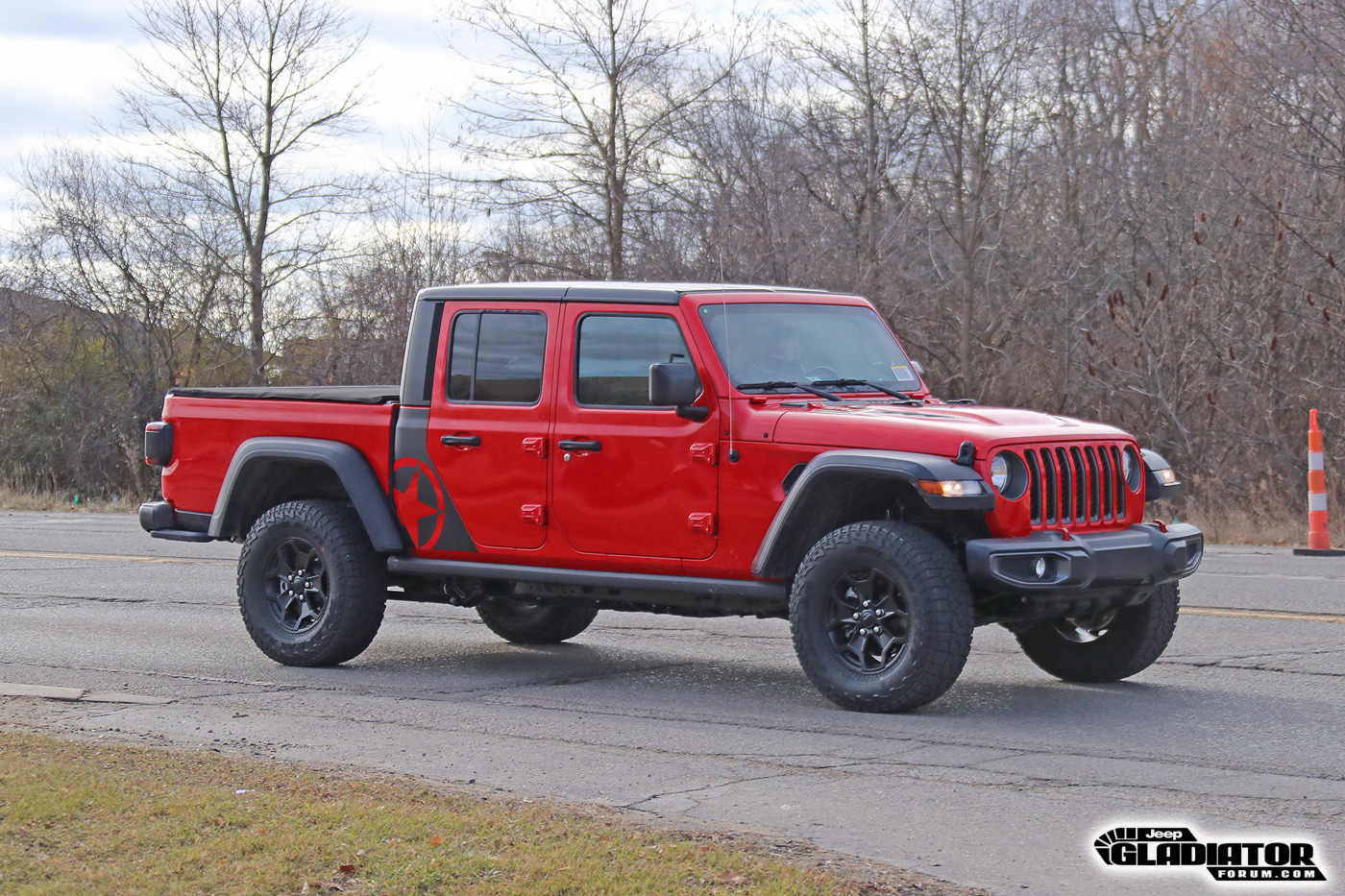 Jeep Gladiator Rubicon (Freedom Edition?) Spotted – 2020 ...