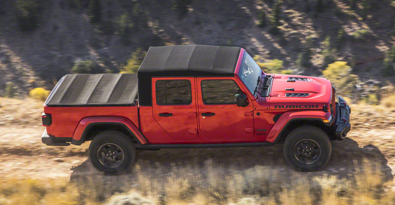 More Details On Jeep Gladiator Soft Top And Tonneau Cover 2020