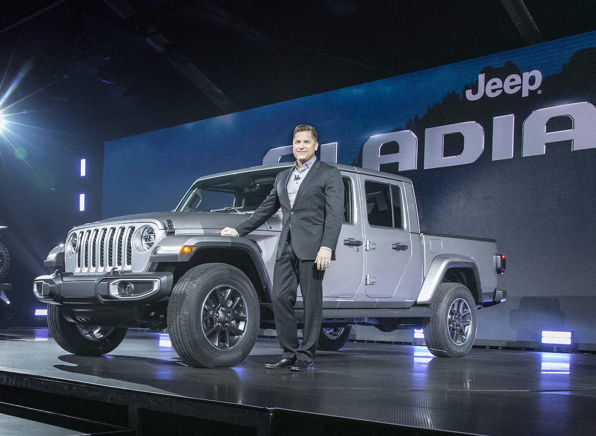 Jeep CEO Tim Kuniskis Reacts to Our Gladiator Hercules ...
