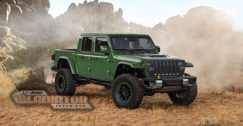 """""""Hercules"""" Jeep Gladiator Being Tested – 2020+ Jeep ..."""
