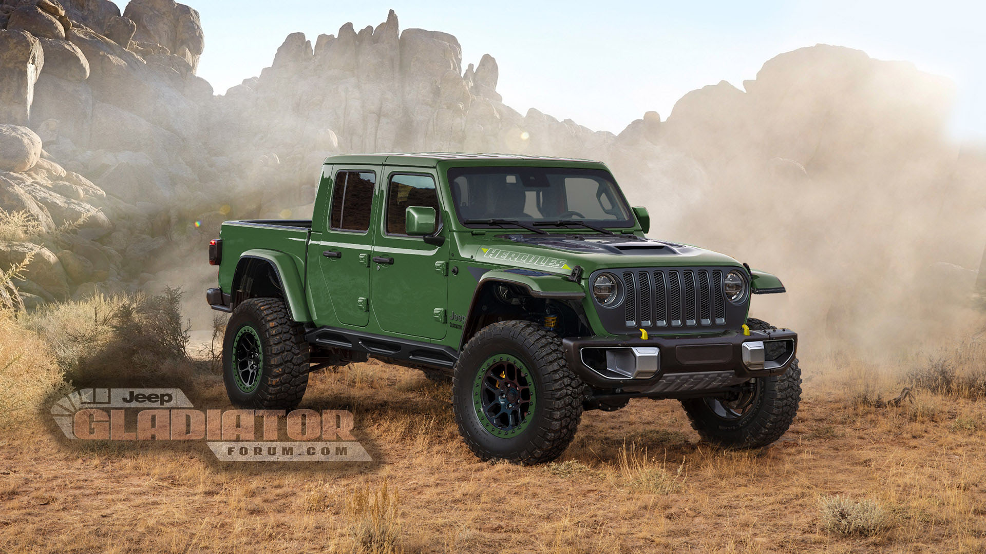 Hercules Jeep Gladiator Being Tested 2020 Jeep