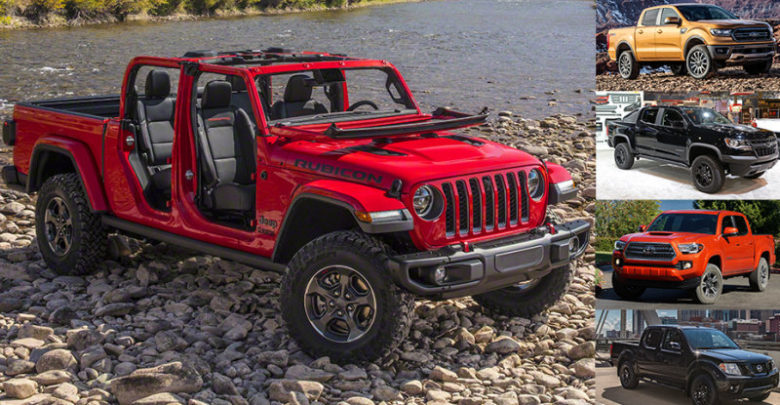 2020 Jeep Gladiator Interior Dimensions