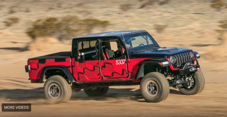 Jeep Gladiator Completes King Of The Hammers Every Man Challenge