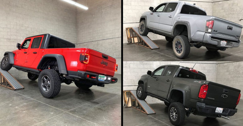 Jeep Gladiator Rubicon Whoops Colorado And Tacoma In Rti Test Score