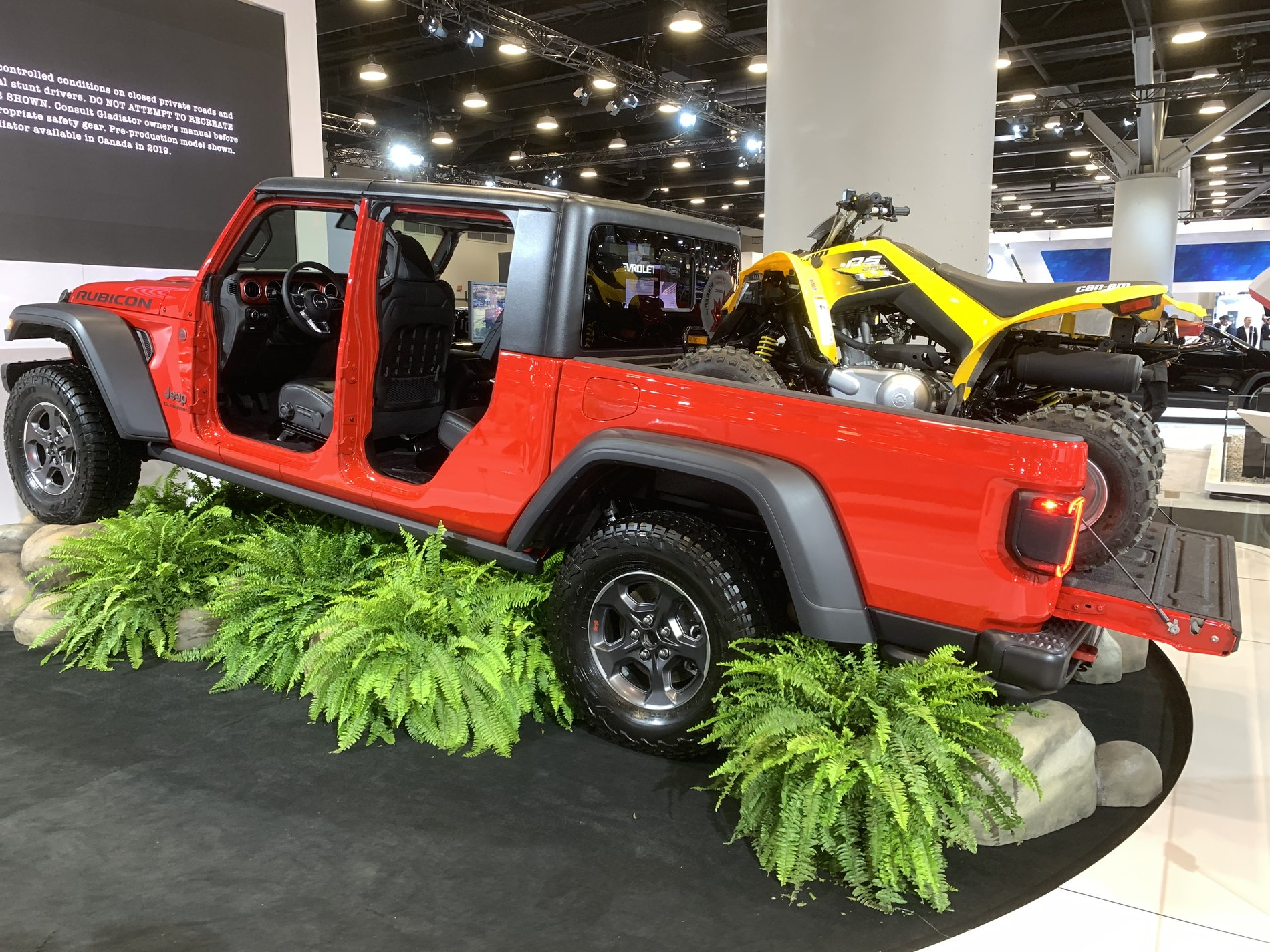 2020 Jeep Gladiators at the Vancouver International Auto ...