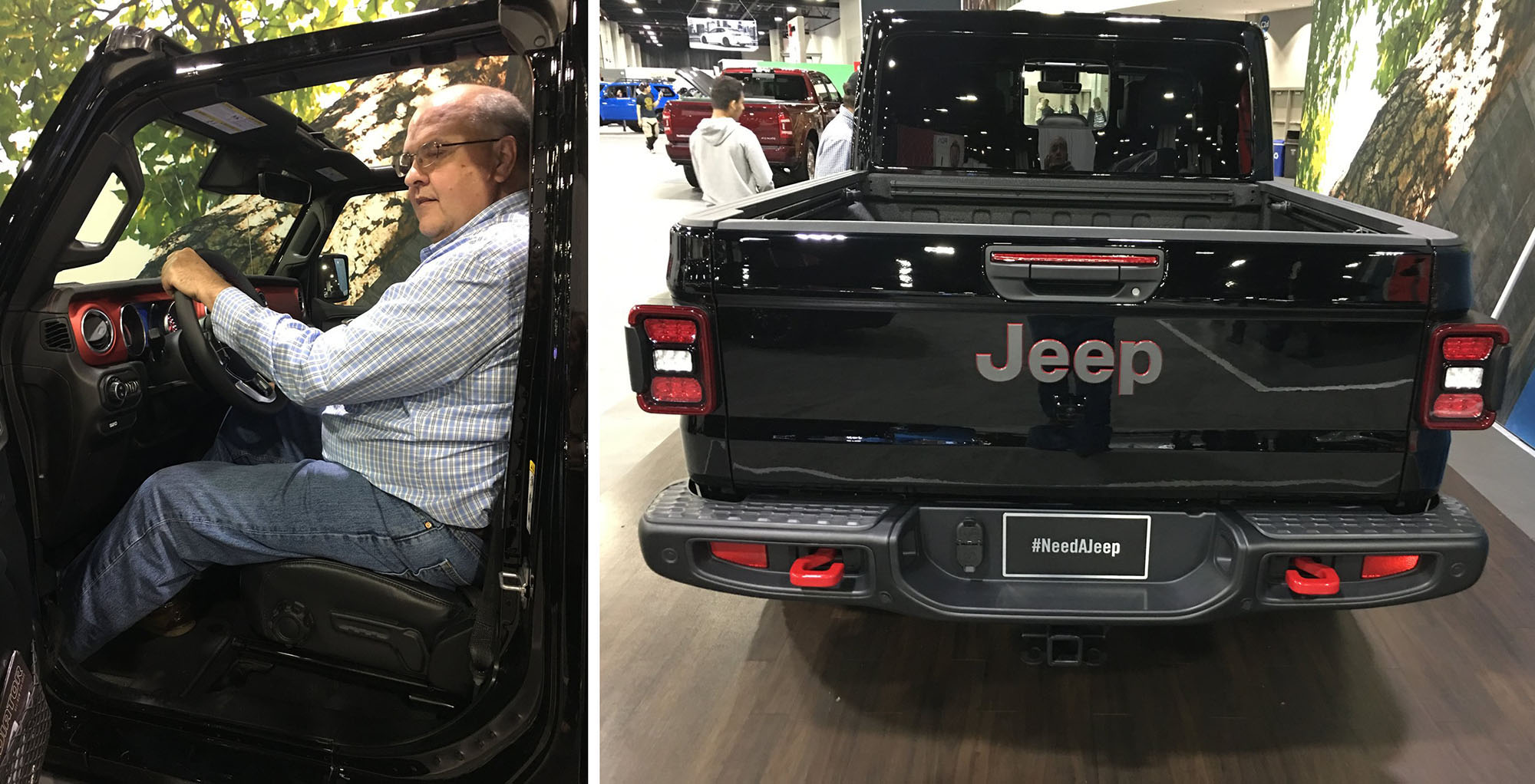 Pics: Seat Time in Jeep Gladiator at Atlanta Auto Show ...