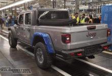 Close Up Look At Jeep Gladiator With Mopar Lift Beadlock