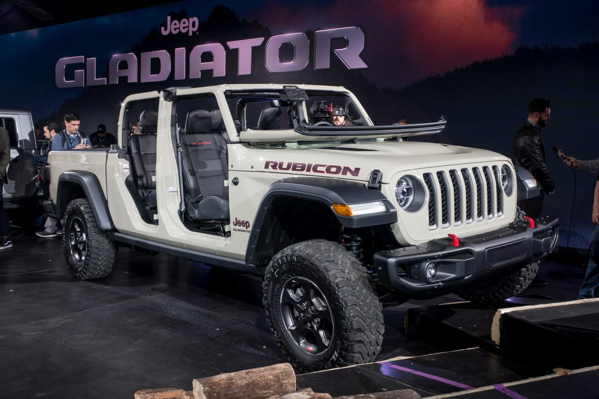Dealers Offering Discounts On 2020 Jeep Gladiator Orders