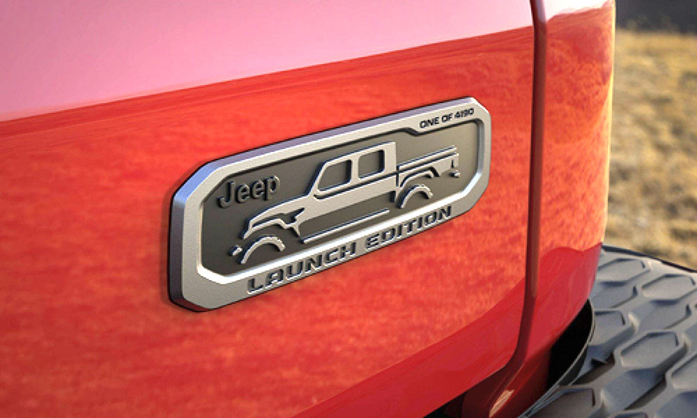 Detailed Ordering Information For The 2020 Jeep Gladiator ...