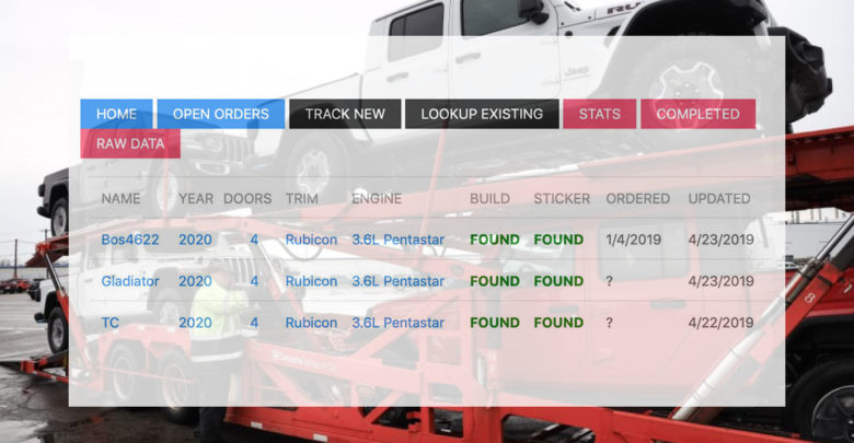 Jeep Build Sheet >> Track Your Jeep Gladiator Order With Our Window Sticker And Build