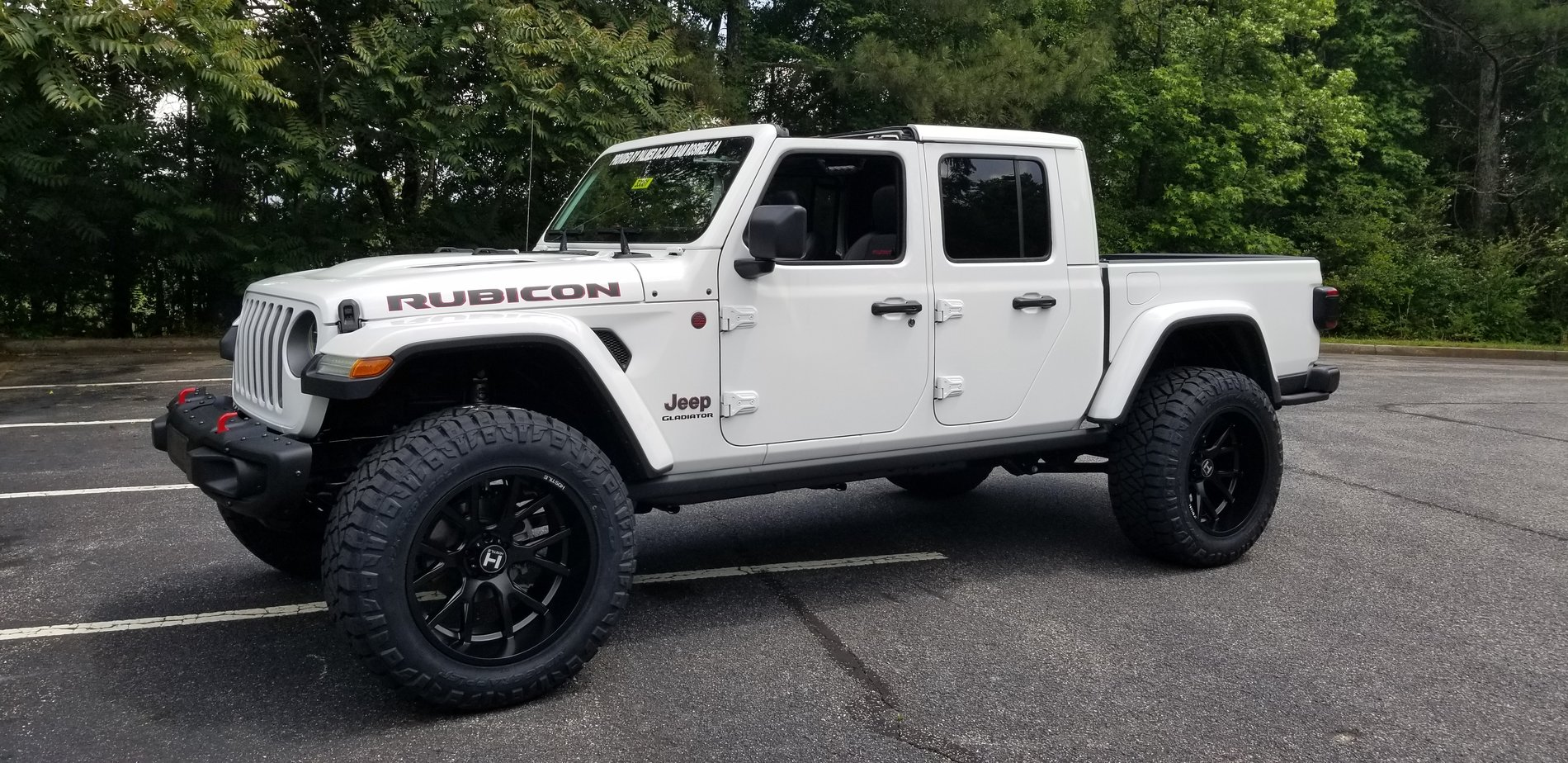 2020 Jeep Gladiator Rubicon Lifted