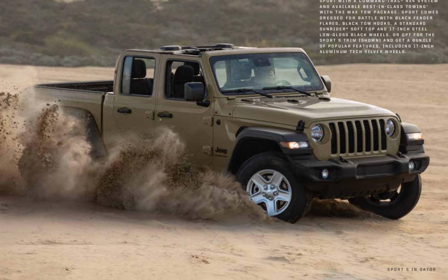 2020 Jeep Gladiator Brochure 2020 Jeep Gladiator Jt