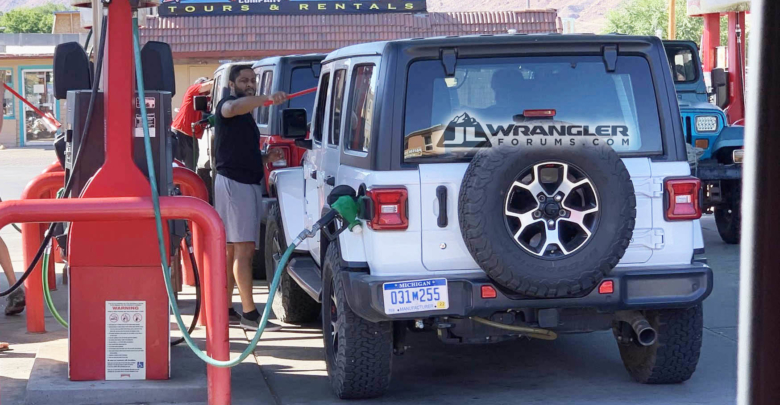 Diesel Jeep Gladiator Spotted Testing With Wranglers at Moab