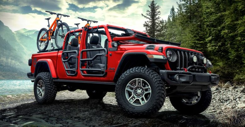 Full Mopar Accessories / Parts List For Jeep Gladiator ...